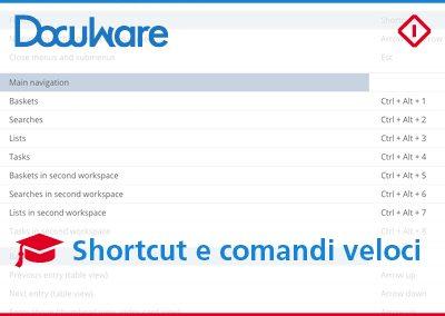 Shortcut DocuWare per lavorare in modo più flessibile