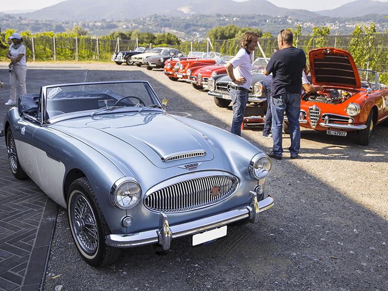 Auto d'epoca e 3D al Gottardo Classic