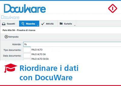Riordinare i dati con DocuWare: come farlo in modo veloce ed efficiente
