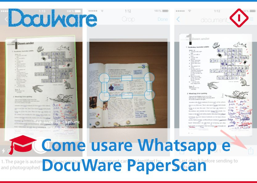 DocuWare PaperScan per Whatsapp