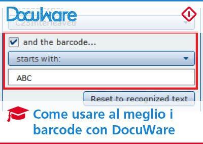 Codici a barre in DocuWare: come sfruttarli al meglio