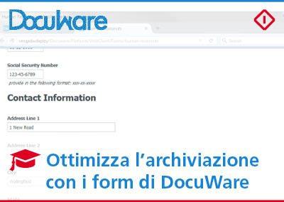 Usare i form di DocuWare per ottimizzare la raccolta di informazioni