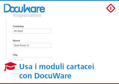 Form cartacei con DocuWare: usali anche in digitale!
