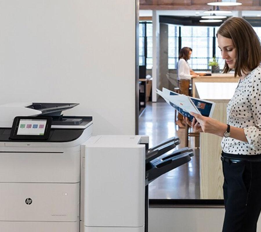 stampa con stampante hp