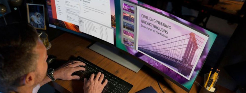 """HP S430c 43.4"""" Monitor Curved Ultrawide"""